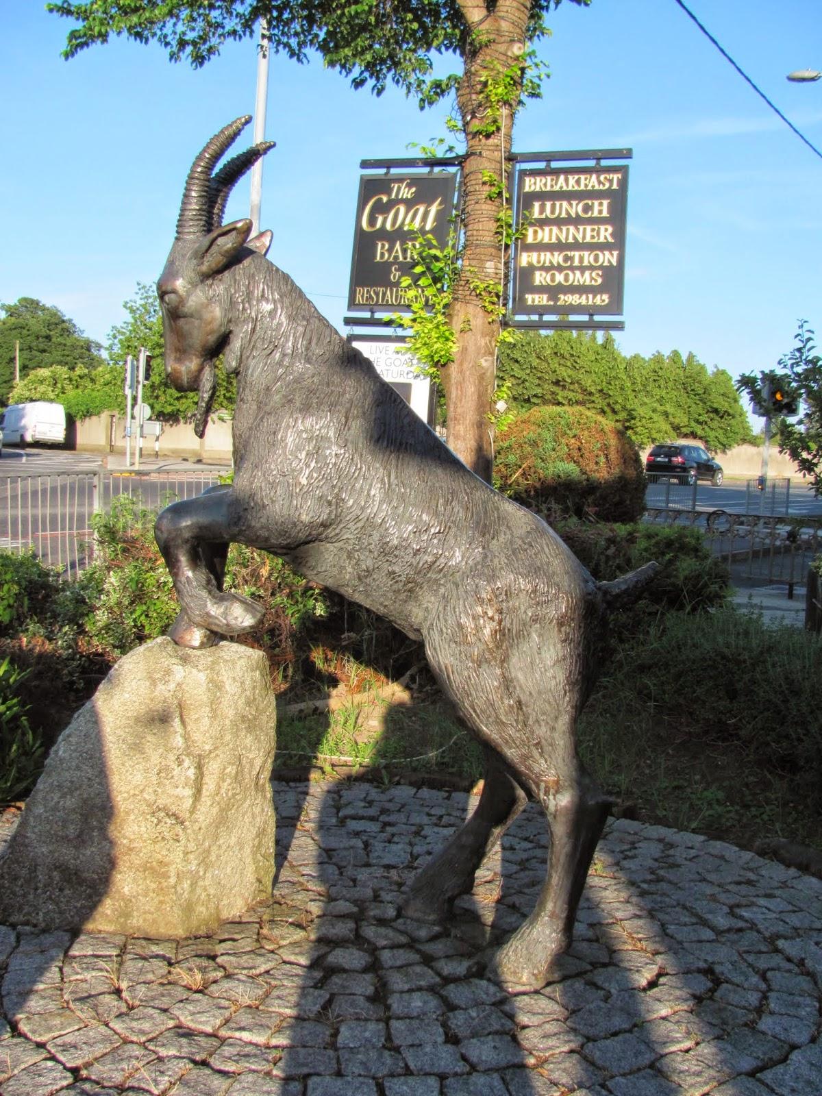 Goat Statue at The Goat Pub, Dublin