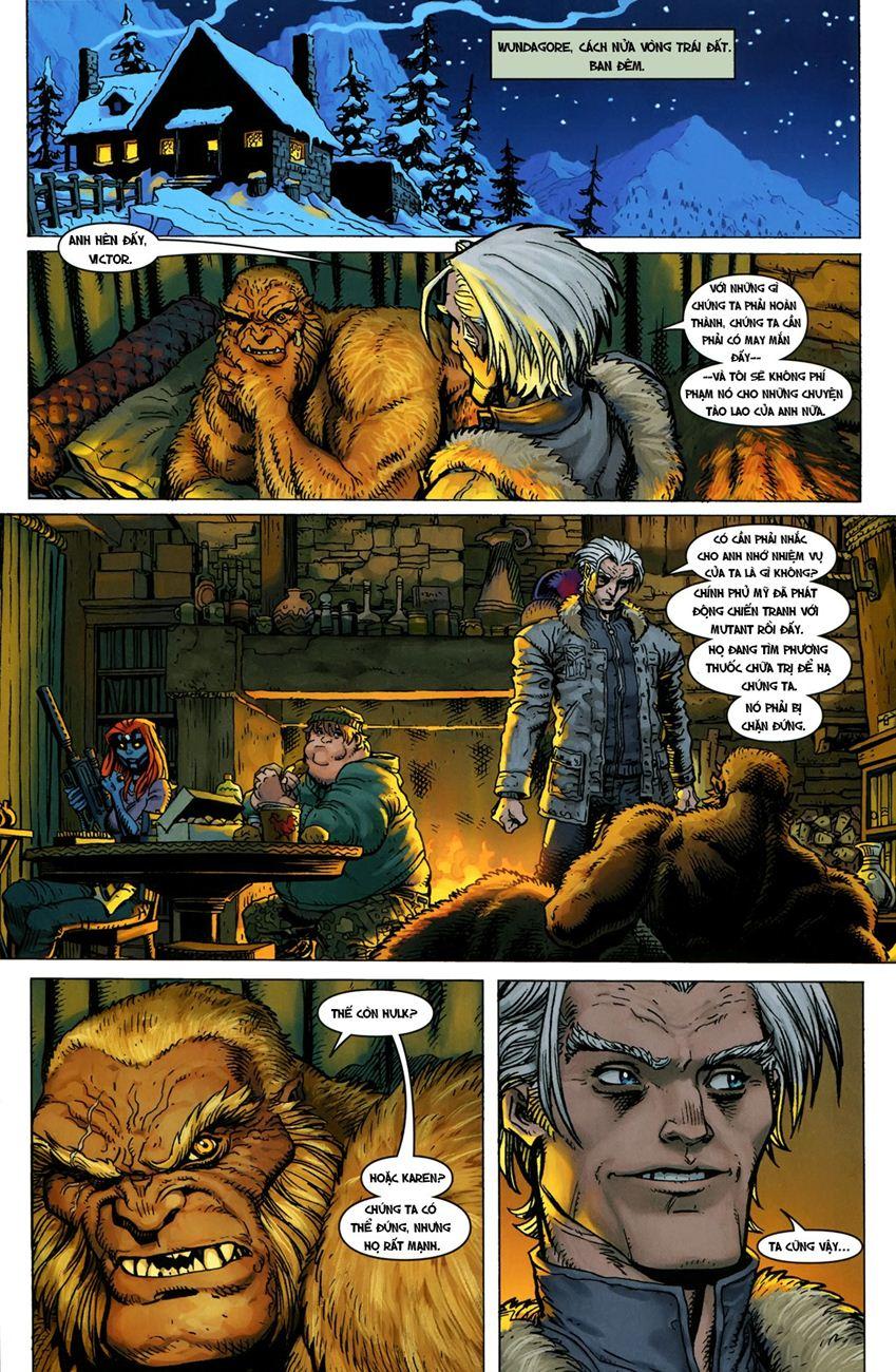 TruyenHay.Com - Ảnh 21 - Ultimate Comics X Chap 5