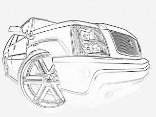 desenhos para colorir carros antigos caricaturas e carro de luxo