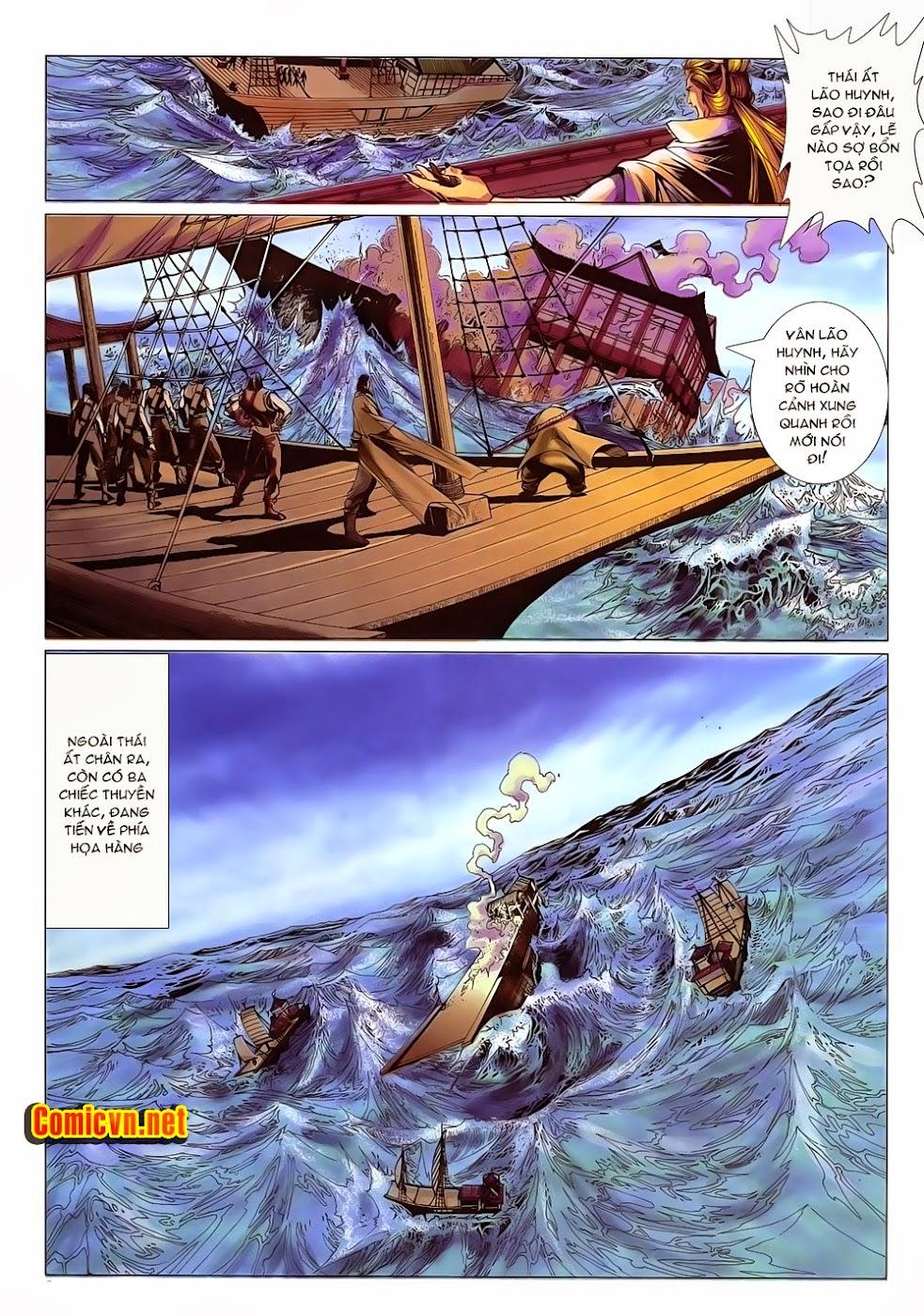 Lục Đạo Thiên Thư chap 15 - Trang 9