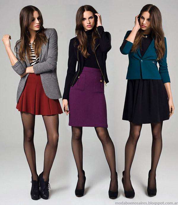 Faldas otoño invierno 2014. Moda otoño invierno 2014 colección Mab.