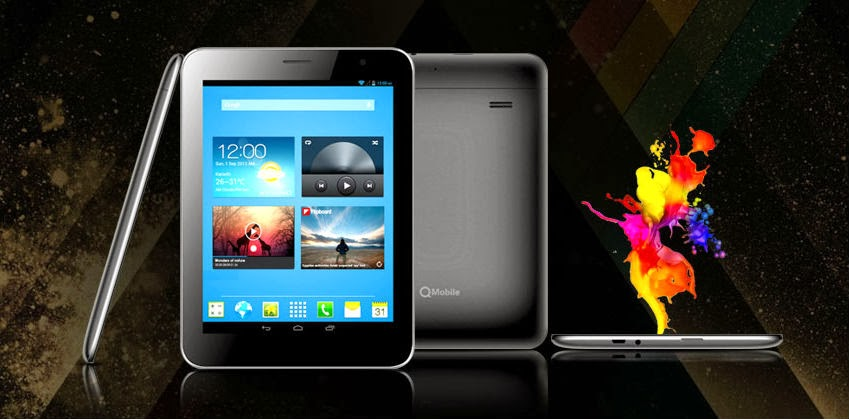 Qtab x50 is the first tablet introduced by qmobile for Q tablet with price