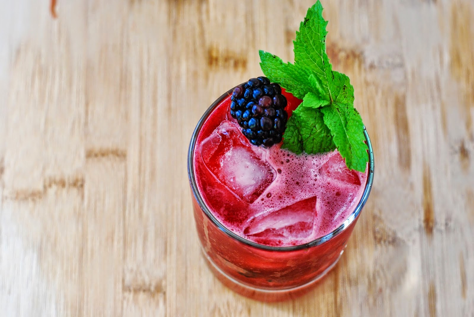 Blackberry Mint Margaritas