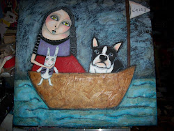 """Daisy goes sailing"""