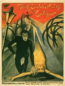 Poster original de El gabinete del Dr. Caligari