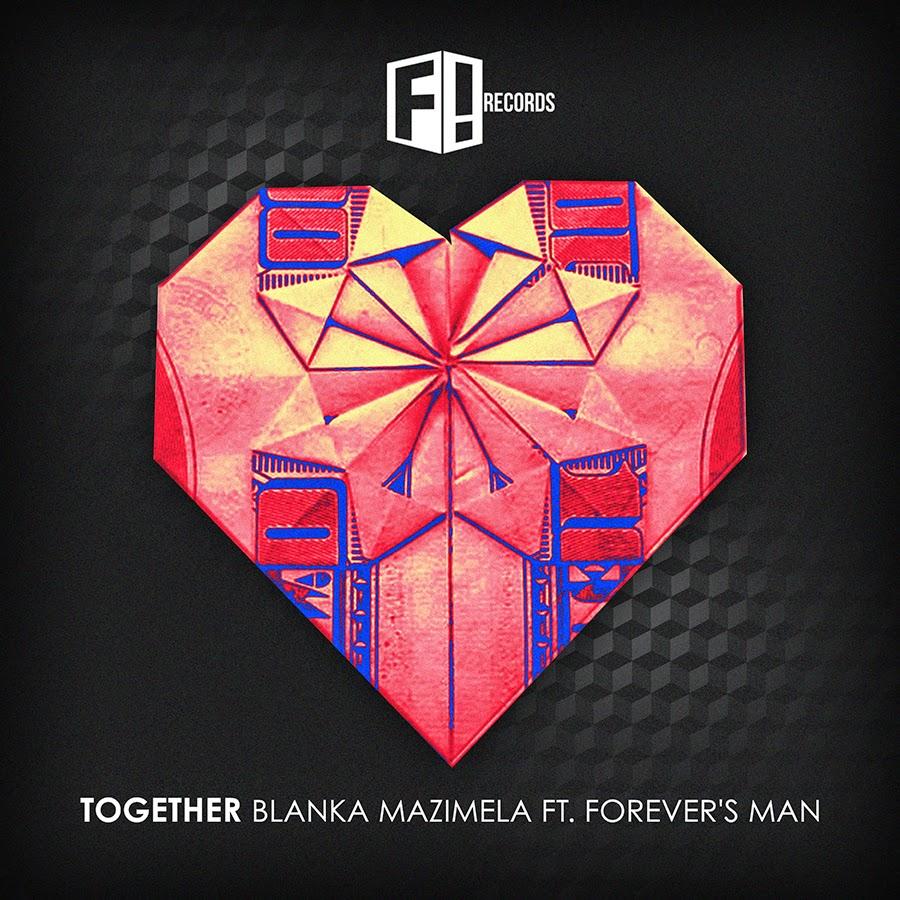 together paper heart - blanka mazimela
