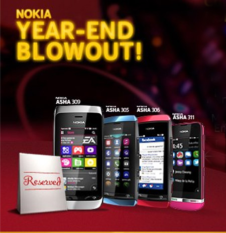 Nokia Philippines Year-End Blowout 2012