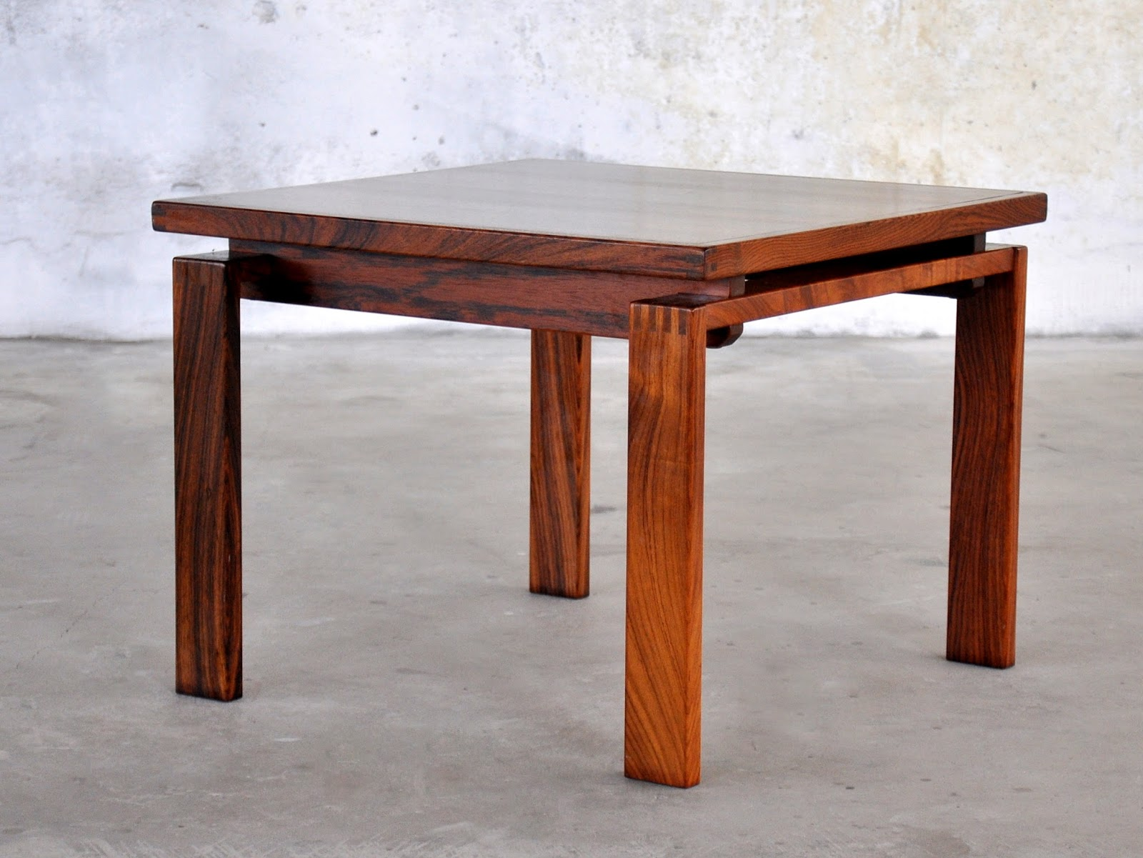 Danish Modern Rosewood End Or Side Table