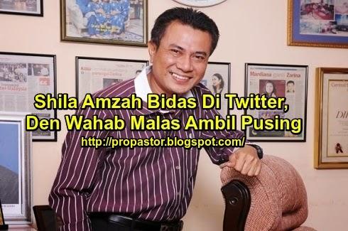 Shila Amzah Bidas Di Twitter Den Wahab Malas Ambil Pusing