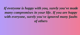 if everyone is happy with you