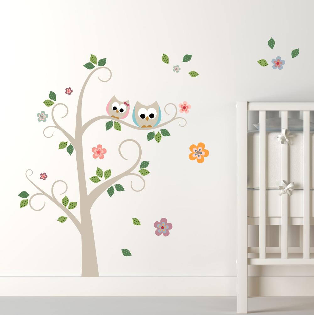 Blog Estilo & Décor Adesivar o quarto do seu pequeno sai  ~ Adesivos De Parede Para Quarto De Bebe Urso