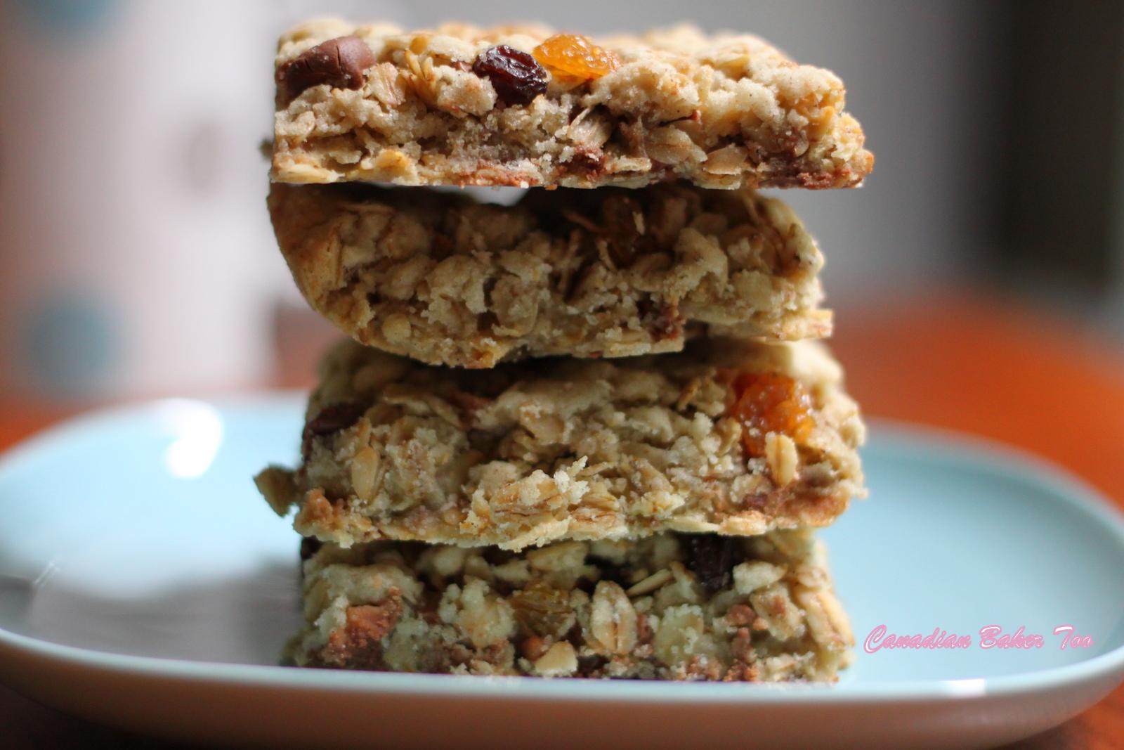 Canadian Baker Too: Oatmeal Bars