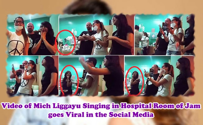 Video of Mich Liggayu Singing in Hospital Room of Jam goes Viral in the Social Media