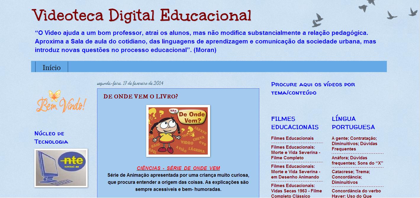 VIDEOTECA DIGITAL EDUCACIONAL