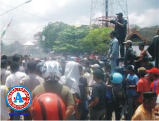 Diduga Kawasan Laut Bersertifikat, FPPD Gelar Aksi Demo di BPN Kobi