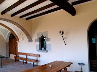 La porxada de Postius on varem esmorzar
