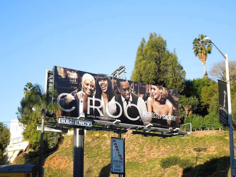 Cîroc Vodka billboard