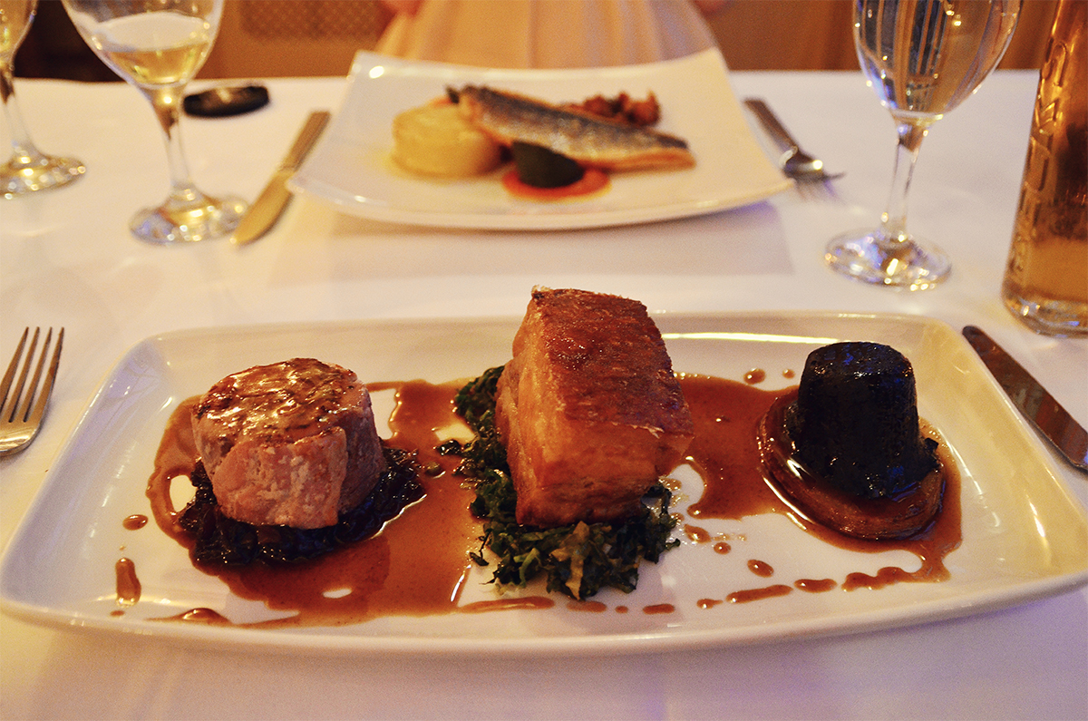 Ox Pasture Hall Restaurant Review Main Course
