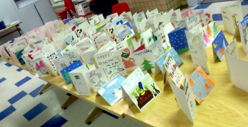 our students once again made a handmade holiday card for every student in the therapeutic nursery at the childrens crisis treatment center cctc - Artistic Holiday Cards