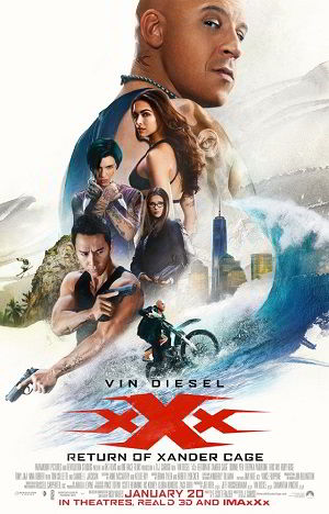 Download xXx Return of Xander Cage (2017) 720p HC HDRip 800MB - SHERiF