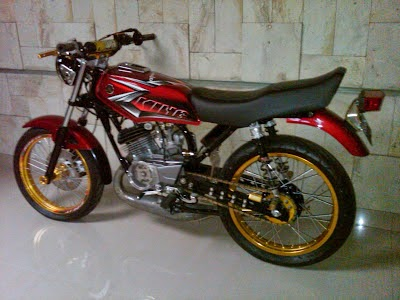 Modifications Yamaha RX King