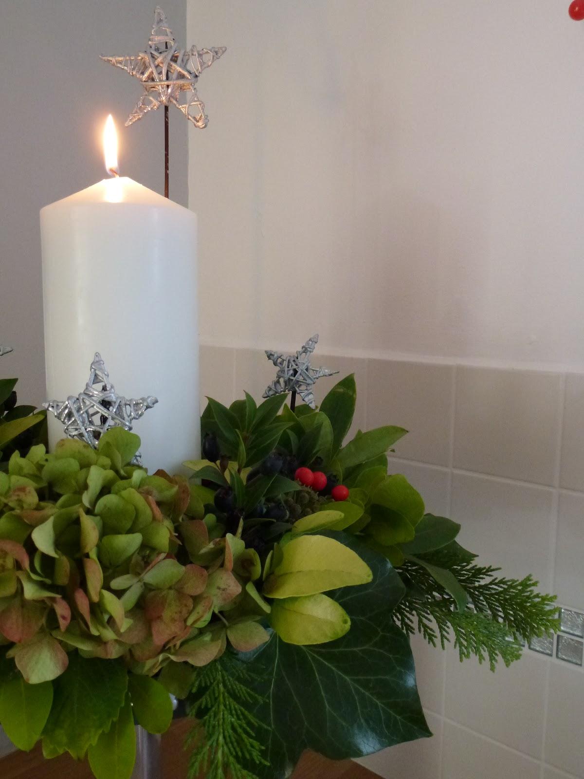 Christmas Light Post Decorations