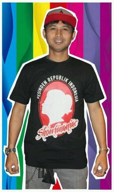 Desain T-Shirts Soimah Pesinden Republik Indonesia
