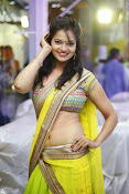 Aswi Glamorous Photos in Half Saree-thumbnail-20