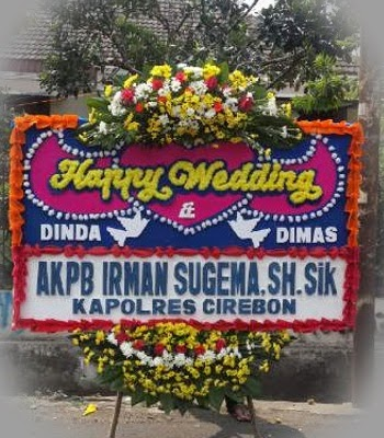 Bunga Happy Wedding