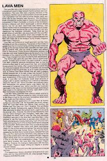 Hombres Lava (ficha marvel comics)
