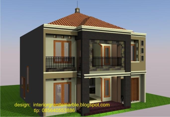 interior granite marble design rumah minimalis