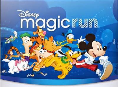 Disney Magic Run en Uruguay (28/nov/2015)