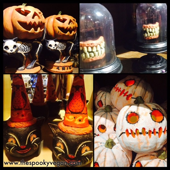 loved the vintage style halloween poms and party decorations - Vintage Style Halloween Decorations