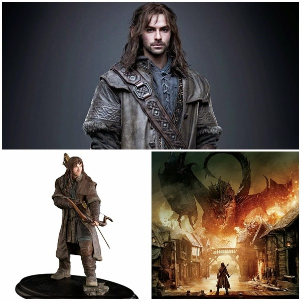 Aidan Turner as Kíli: The Hobbit Movie