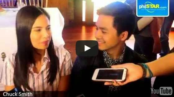 Jasmine Curtis-Smith and Sam Concepcion