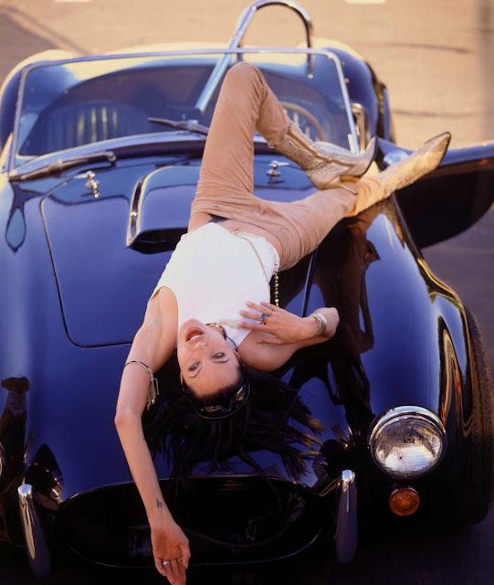 Angelina Jolie on Julie Dennis Brothers Photoset