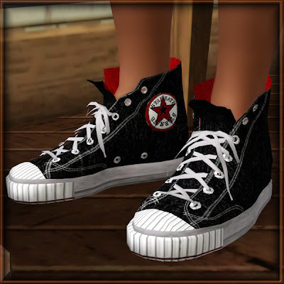 Empire Sims 3 Converse Sneakers By Bobby
