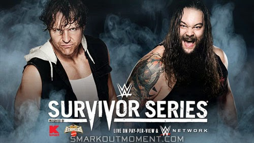 Bray Wyatt versus Dean Ambrose at Survivor Series 2014 event