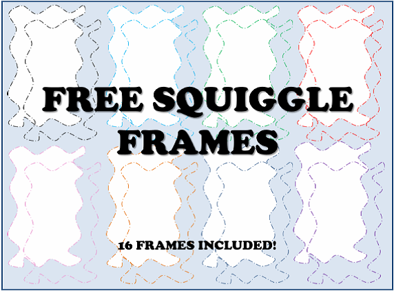 http://www.teacherspayteachers.com/Product/FREE-Squiggle-Frames-and-Borders-1291665