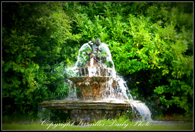 Grand Trianon Versailles fountain