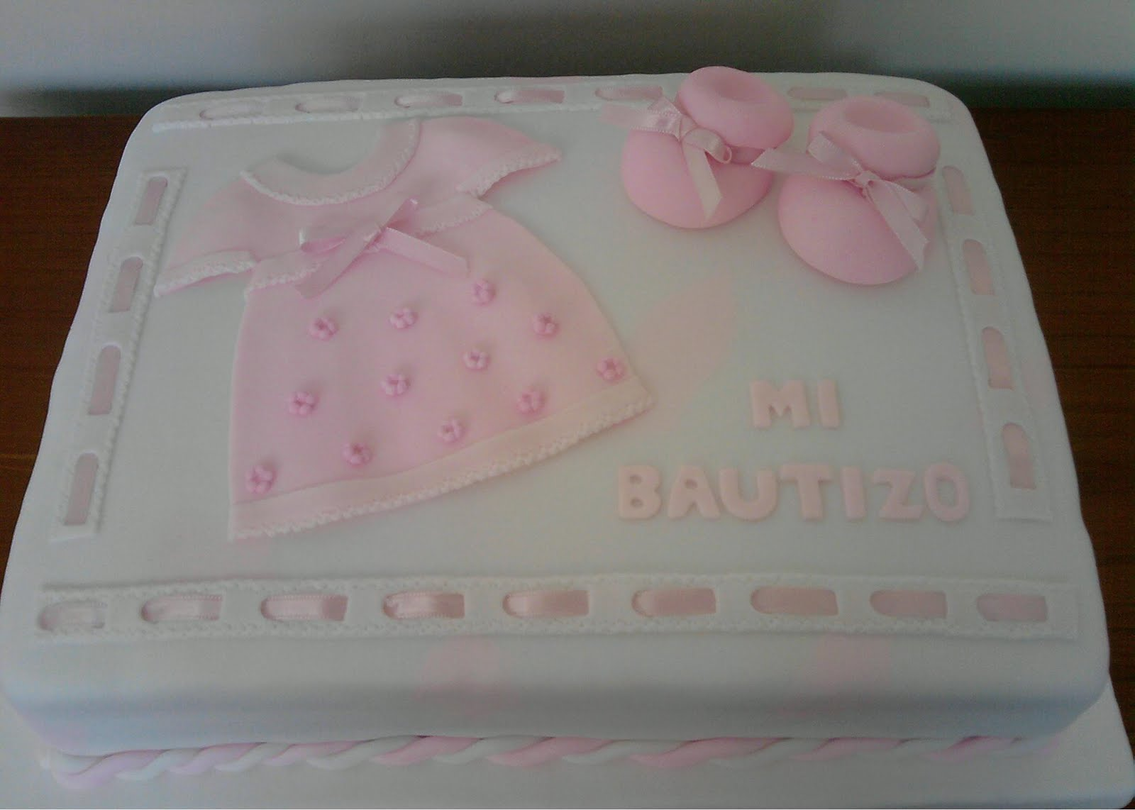 Pin Torta De Bautizo Para Niñas on Pinterest