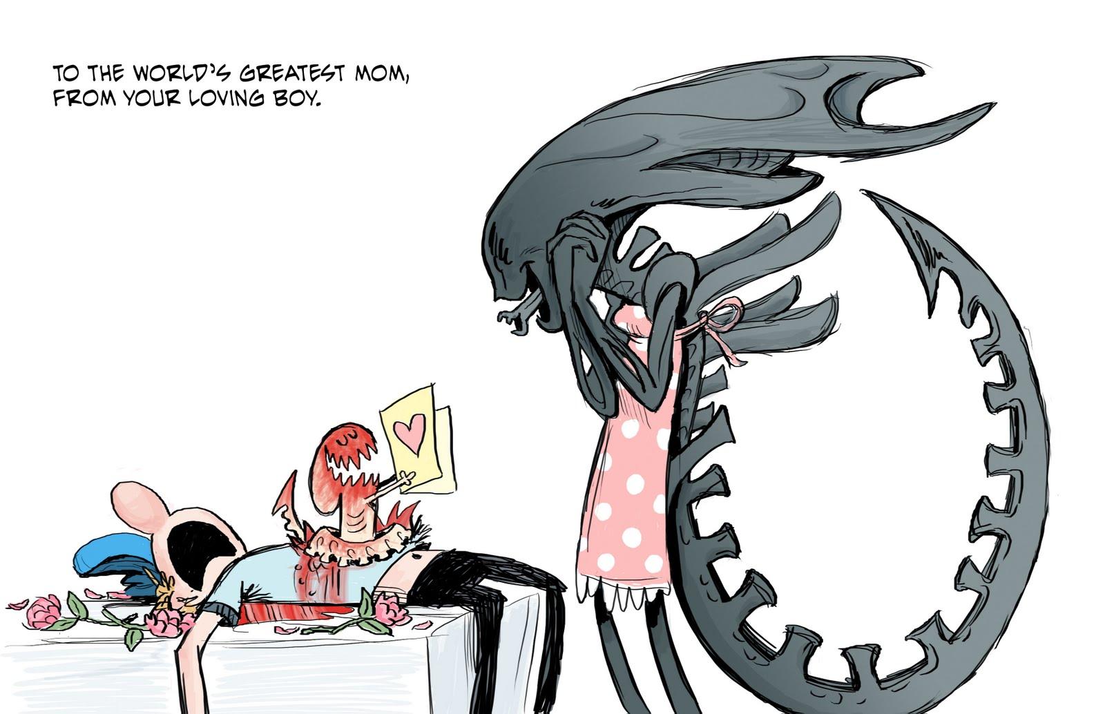 alien fête des mères