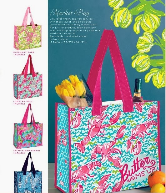 lilly pulitzer market tote
