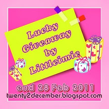 Lucky Giveaway by Littleimie
