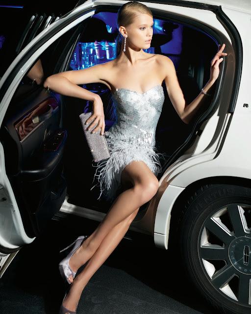 gümüş metal işlemeli parlak kısa abiye modeli 2014
