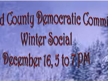 SCDC Winter Social-Wednesday December 16th, 5-7