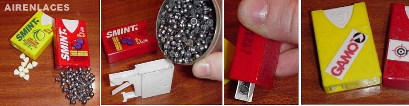Cajas de Aluminio para porta balines
