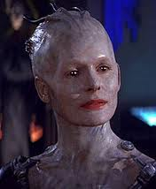 Queen of the Borg from Star Trek