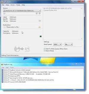 شرح تحويل اسطوانة ويندوز الى ملفات ISO باستخدام ImgBurn المجاني