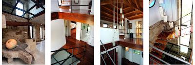 Detalles interior vivienda  unifamiliar en Arbo - Casa Chandaspuga
